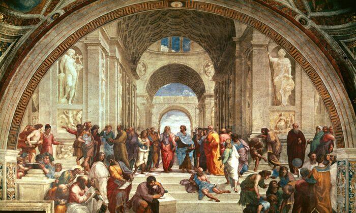 """School of Athens"" by Raphael, 1511. (Public domain)"