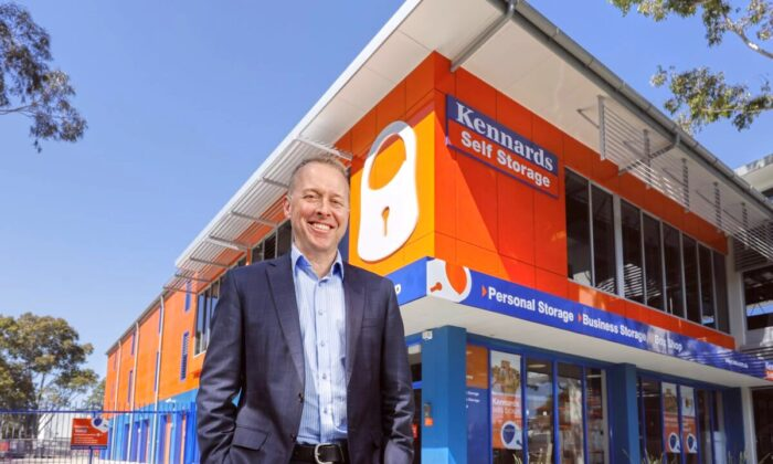 Image of Sam Kennard of Kennards Storage (Supplied)