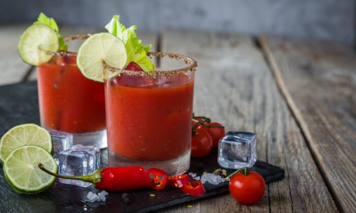 Homemade Bloody Mary Mix Makes Batch Cocktails in a Snap