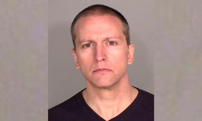 Former Minneapolis police Officer Derek Chauvin. (Ramsey County Sheriff's Office via AP)