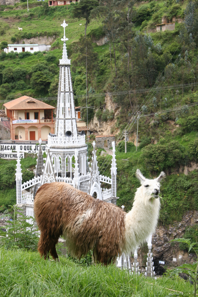 Nariño,,Colombia:,12,Of,January,2006,,Sanctuary,Las,Lajas,In