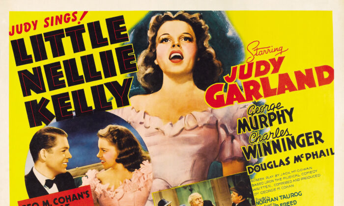 """""""Little Nellie Kelly"""" was not only a vehicle for Judy Garland but for the Irish. (Public Domain)"""