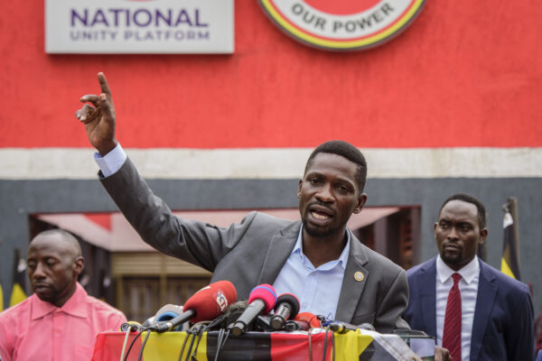Uganda's Bobi Wine Calls for Peaceful Protests After Polls