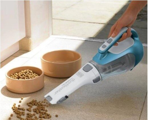 The 2017 Black and Decker Dustbuster (CHV1410L) continues to be this author's pick for Best Inexpensive Handheld Vacuum. (blackanddecker.com )