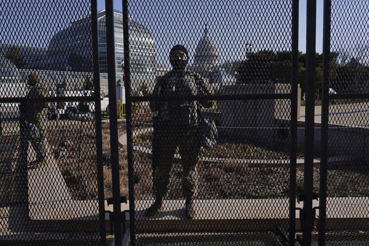 Capitol natiomal guard