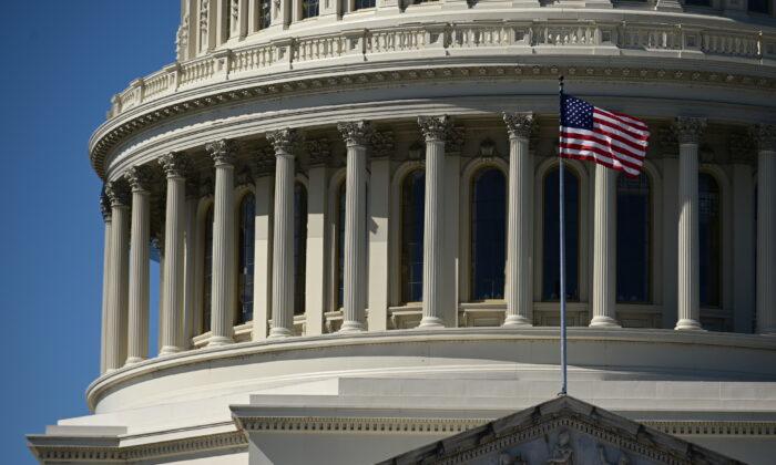The U.S. Capitol in Washington, D.C., on March 8, 2021. (Erin Scott/Reuters)