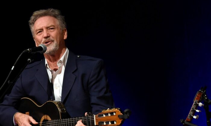 Singer-songwriter Larry Gatlin in the Ford Theater at the Country Music Hall of Fame and Museum on Aug. 15, 2015 in Nashville, Tennessee. (Rick Diamond/Getty Images)