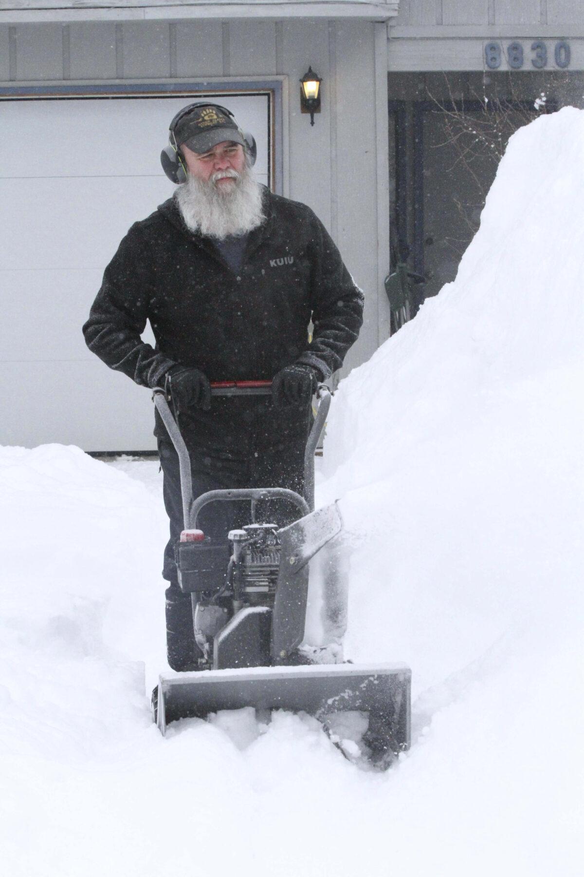 Anchorage Snow