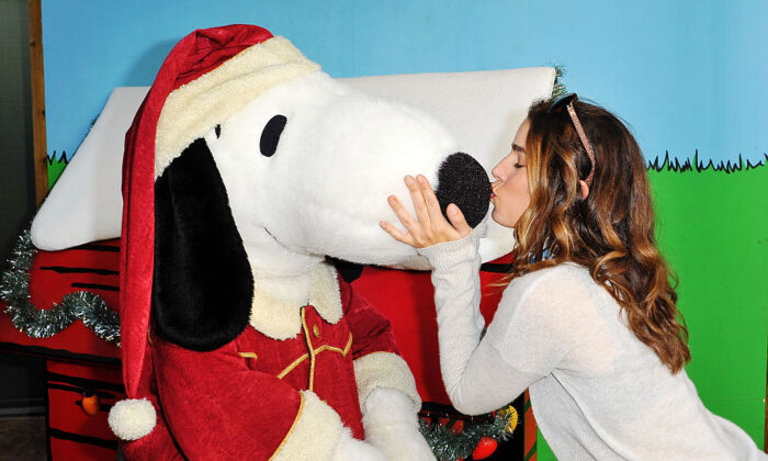 Actress Ana Ortiz attends Knott's Merry Farm Countdown to Christmas Tree Lighting at Knott's Berry Farm, in Buena Park, Calif., on Dec. 5, 2015.  (Jerod Harris/Getty Images for Knott's Berry Farm)
