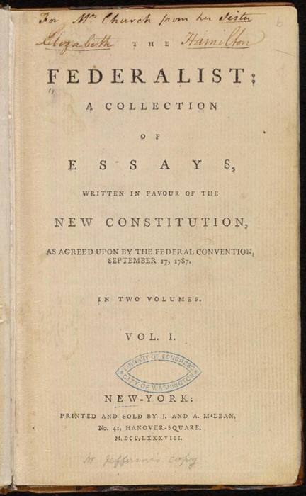 The_Federalist papers