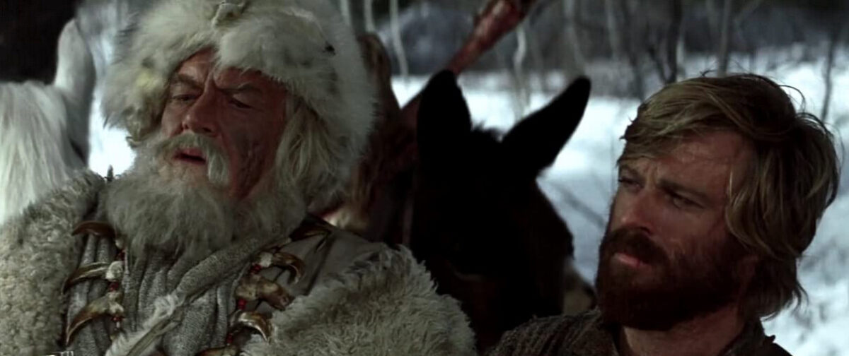 men in furs and beards in Jeremiah Johnson in Five Westerns That Capture the Essence of the American Wild West