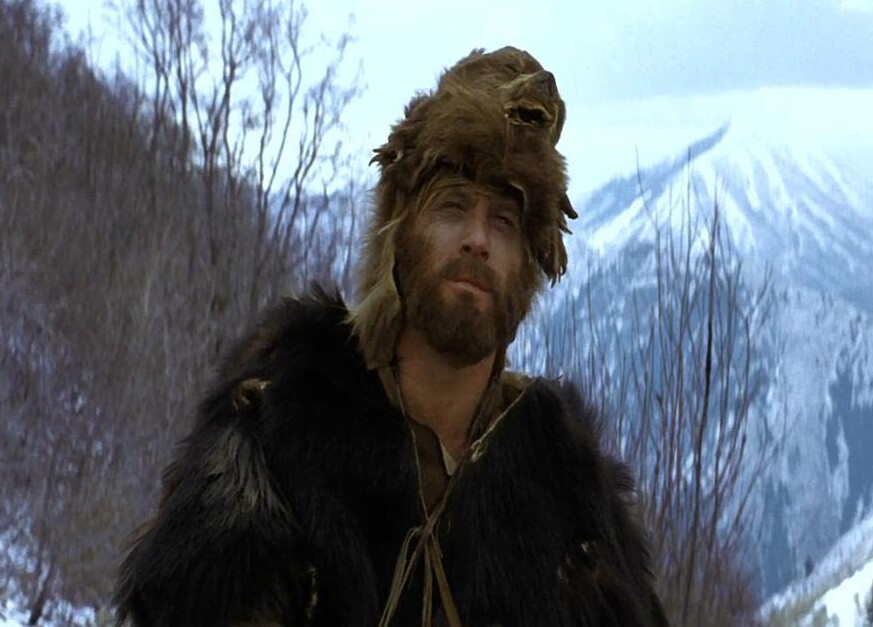 mountain man in furs in Jeremiah Johnson