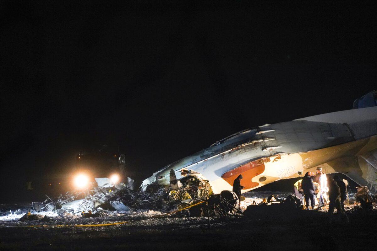 Kazakhstan Plane Crash
