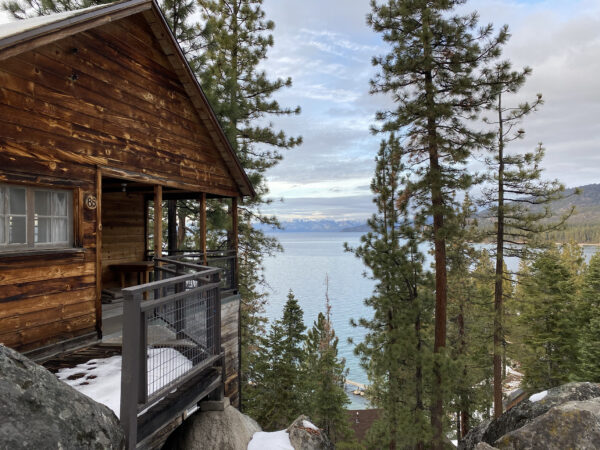cabin at lake tahoe