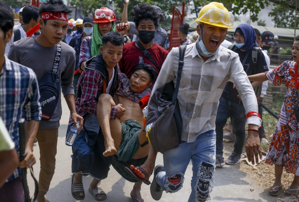 APTOPIX Myanmar
