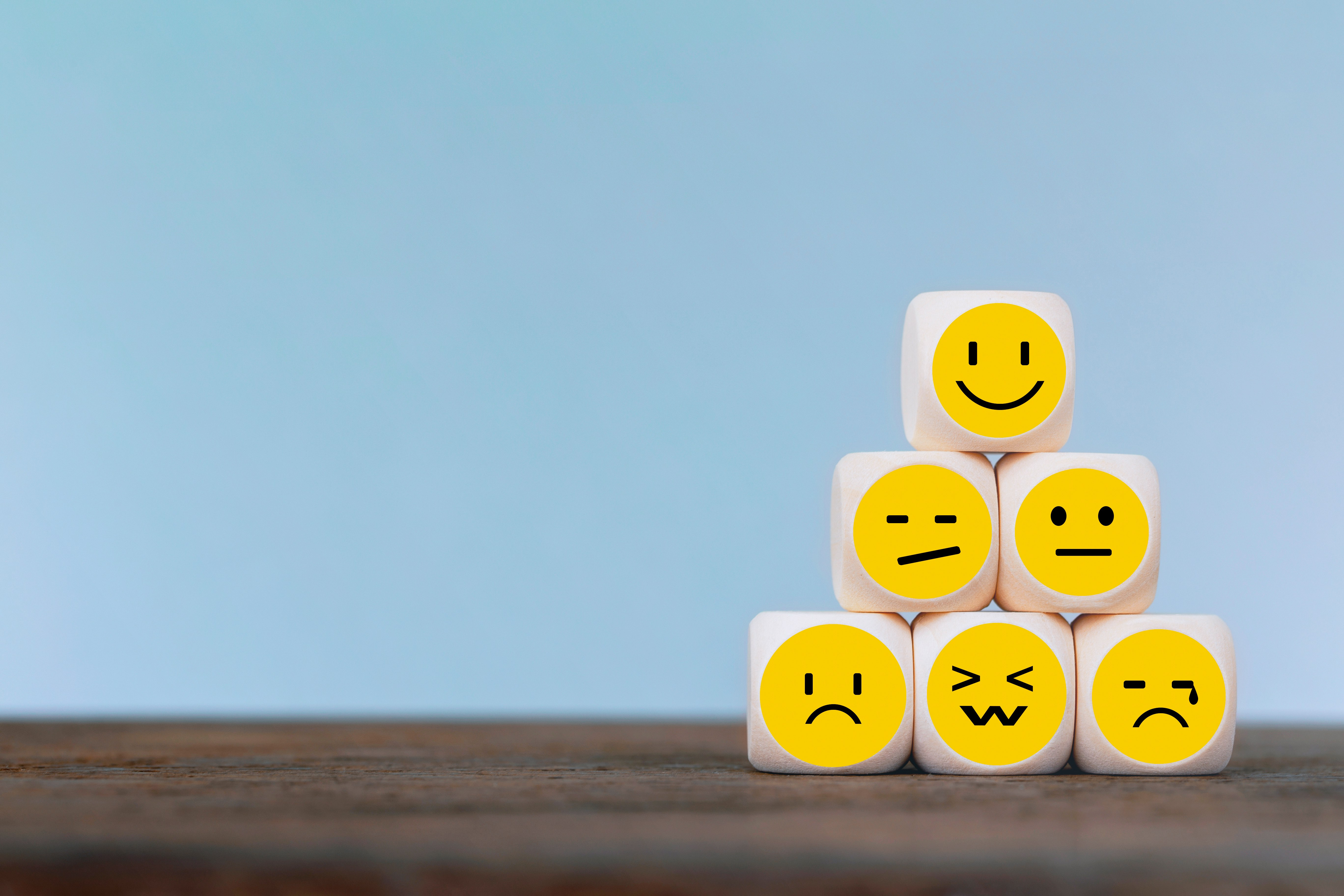 sometimes we let our feelings and emotions drive our thoughts, not realizing we can choose our thoughts and change our feelings.(Mizkit/Shutterstock)