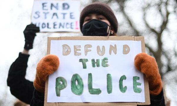 Sarah Everard protest 1 defund the police