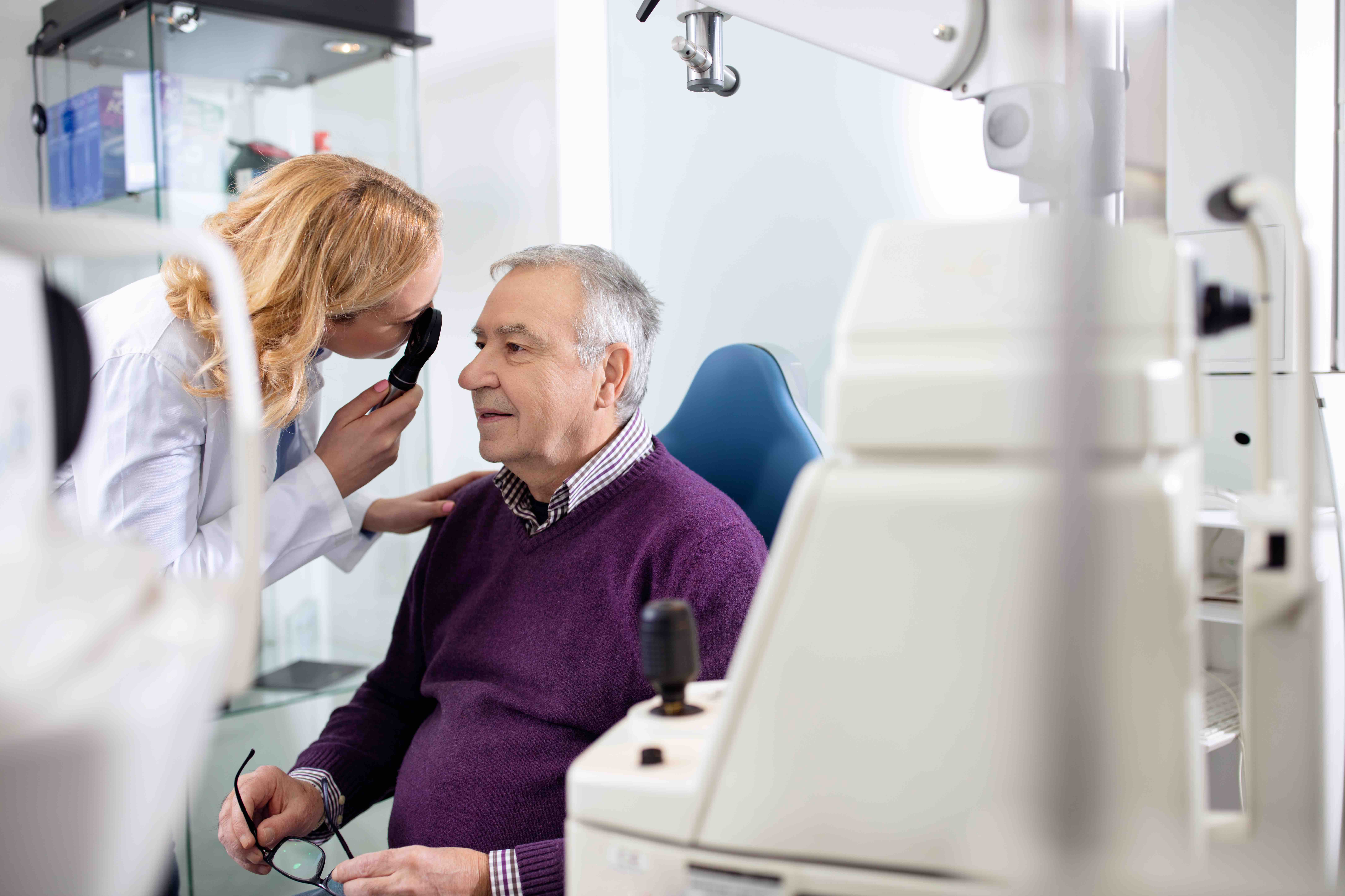 Eye care professionals warn that those facing degenerative eye conditions risk vision loss if they don't take care of their eye health during the pandemic.  (Lucky Business/Shutterstock)