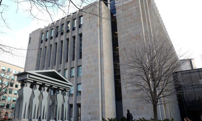 The Ontario Superior Court of Justice Courthouse in Toronto on Jan. 29, 2020. (Colin Perkel/The Canadian Press)