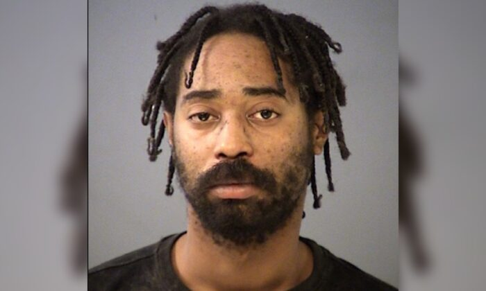 Malik Halfacre in an undated mugshot photograph.  (Indianapolis Police Department)