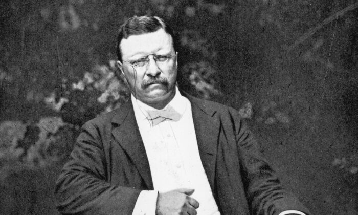"The speech by Theodore Roosevelt, popularly known as ""Man in the Arena,"" was entitled ""Citizenship in a Republic,"" and given at the Sorbonne in Paris on April 23, 1910. (Fotosearch/Getty Images)"