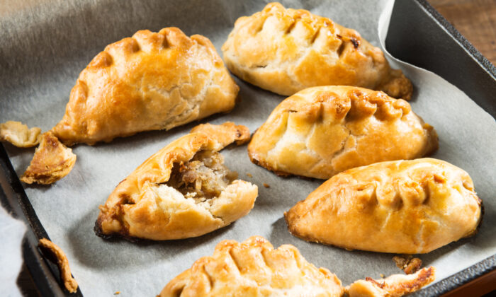 Pasties, hearty meat-and-vegetable pies, were a common miner's meal. (Anna Mente/Shutterstock)