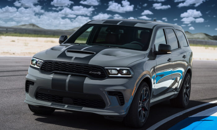 2021 Dodge Durango SRT Hellcat. (Courtesy of Stellantis Media)