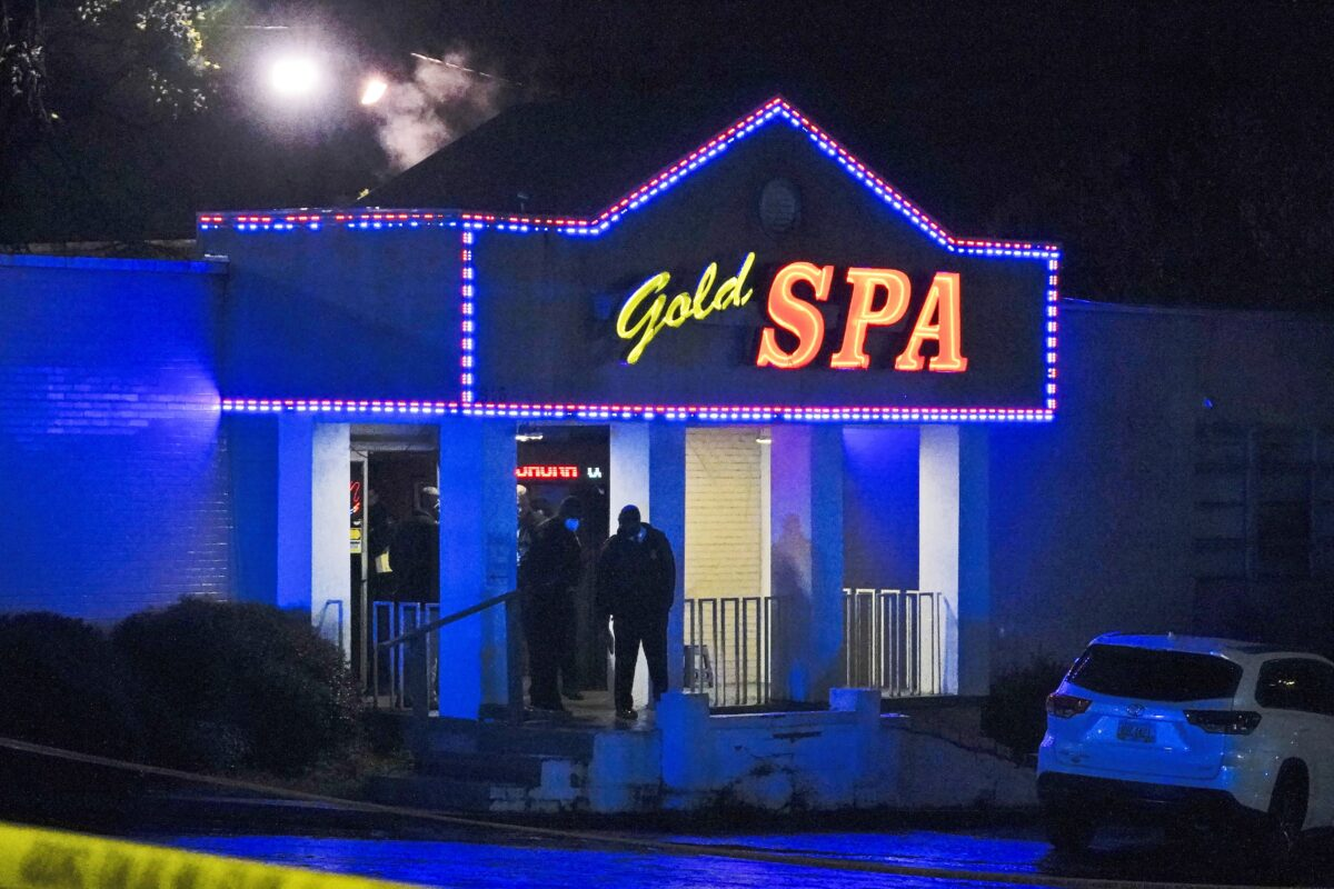 APTOPIX Massage Parlor Shooting