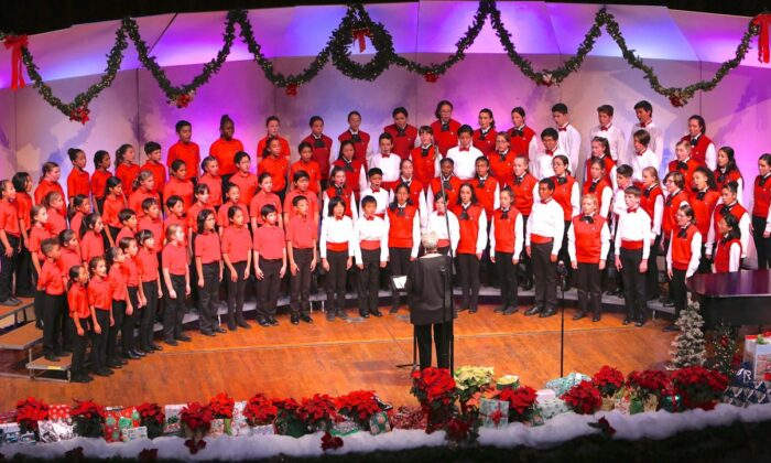 A South Bay Children's Choir Christmas concert. (Gordon Dressler/Courtesy of South Bay Children's Choir)