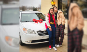 Chick-Fil-A Employee Wins New Car in Raffle, Gives It to Coworker Who Bikes Miles to Work in Winter