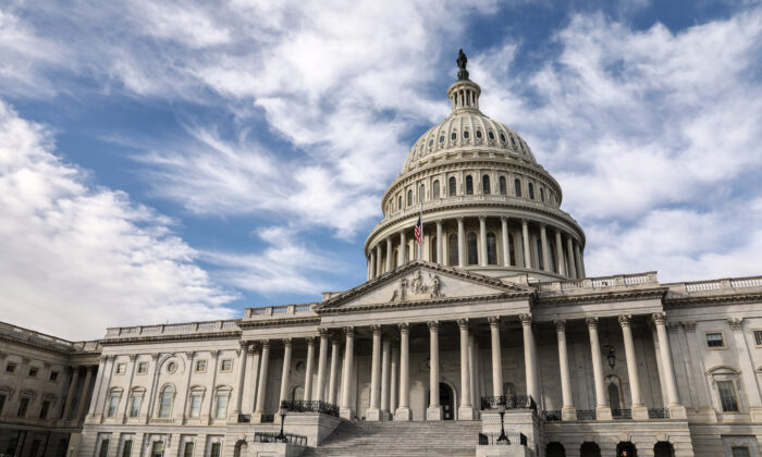The U.S. Capitol in Washington on Dec. 17, 2018. (Samira Bouaou/The Epoch Times)
