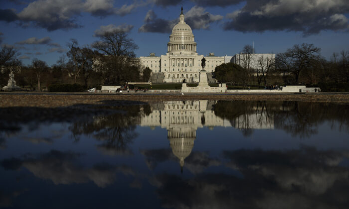 The U.S. Capitol in Washington, D.C. is seen on March 22, 2019. (Drew Angerer/Getty Images)