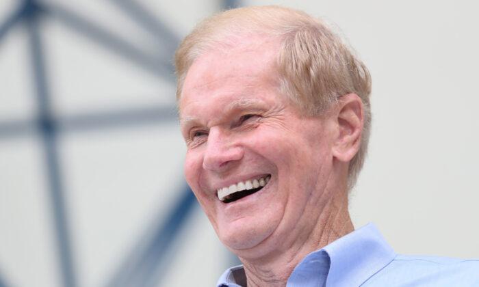 Sen. Bill Nelson (D-Fla.) smiles in West Palm Beach, Fla., on Nov. 3, 2018. (Shannon Stapleton/Reuters)