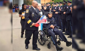 Police Officer Shot in Head in Line of Duty Promoted Honorary Detective 5 Years Later