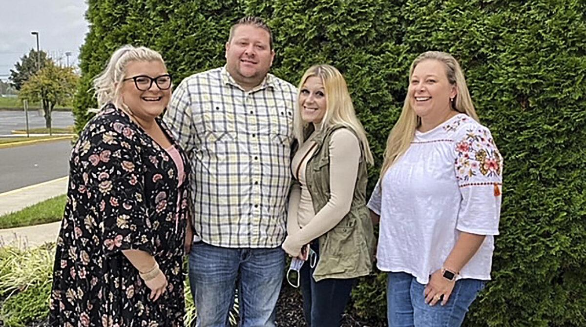 Jennifer Lannon and family