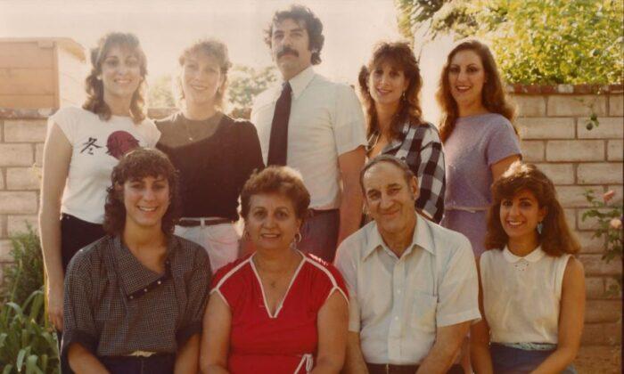 The Semenza family. (Courtesy of Laura Semenza-Marcos)