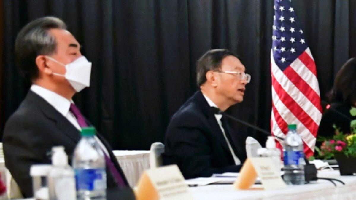 Yang Jiechi and Wang Yi