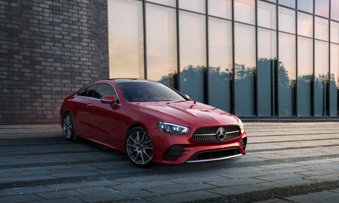2021 Mercedes-Benz E 450 Coupe. (Courtesy of Mercedes-Benz)