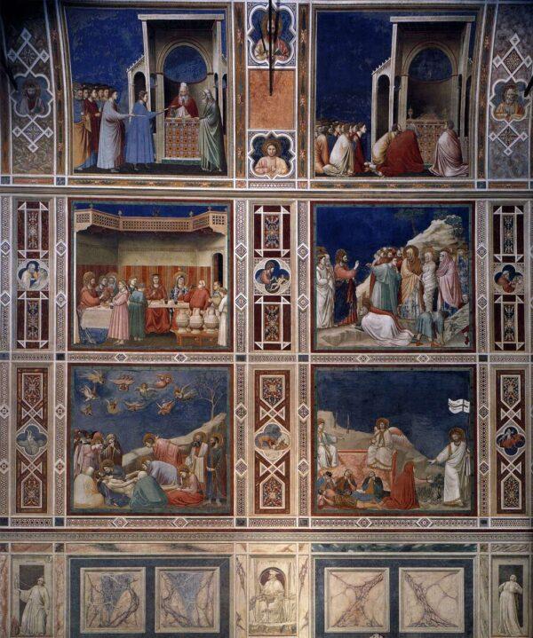 Giotto_di_Bondone_-_Scenes_with_decorative_bands