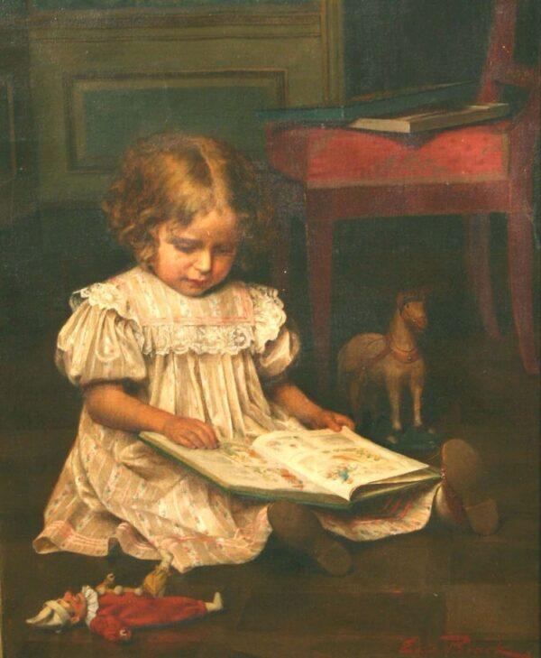 Emil_Brack_Girl_Reading