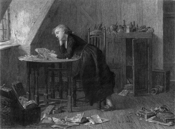 Thomas_Chatterton an engraving of_
