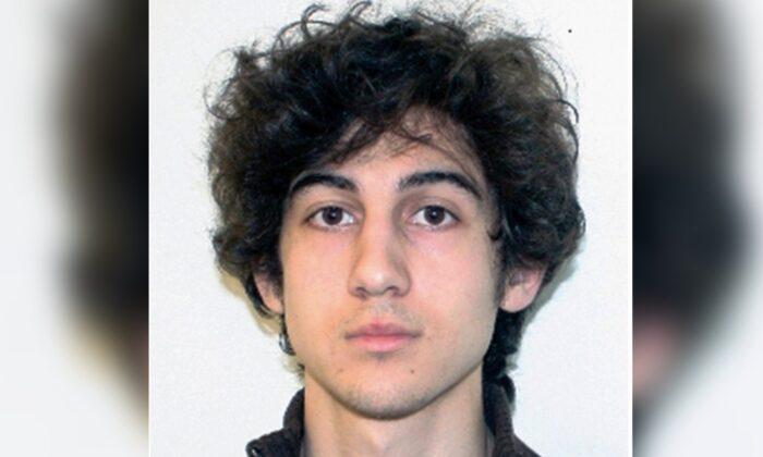 Dzhokhar Tsarnaev is shown in this file photo released on April 19, 2013. (FBI via AP)