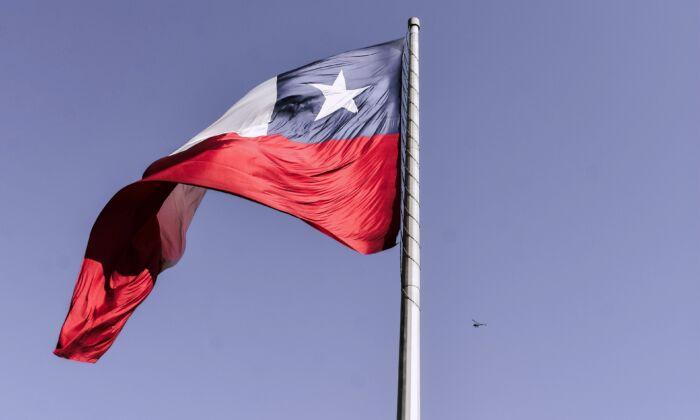 The flag of Chile. (Elias Almaguer/Unsplash)