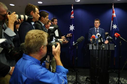 Australian Attorney-General Christian Porter