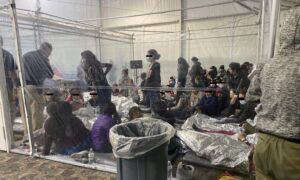 Leaked Photos Show Children Packed in 'Terrible Conditions' in Border Patrol Facility
