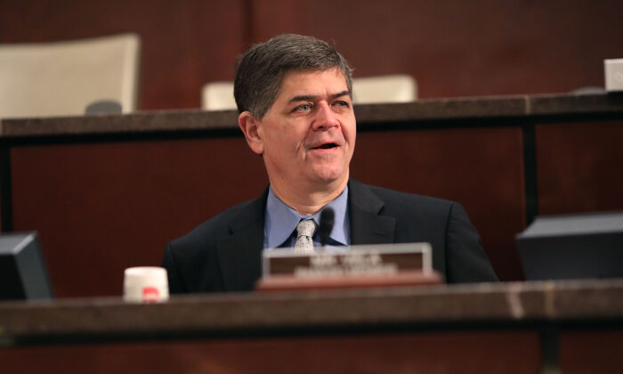 Rep. Filemon Vela (D-Texas) participates in a hearing in Washington on April 4, 2017. (Chip Somodevilla/Getty Images)