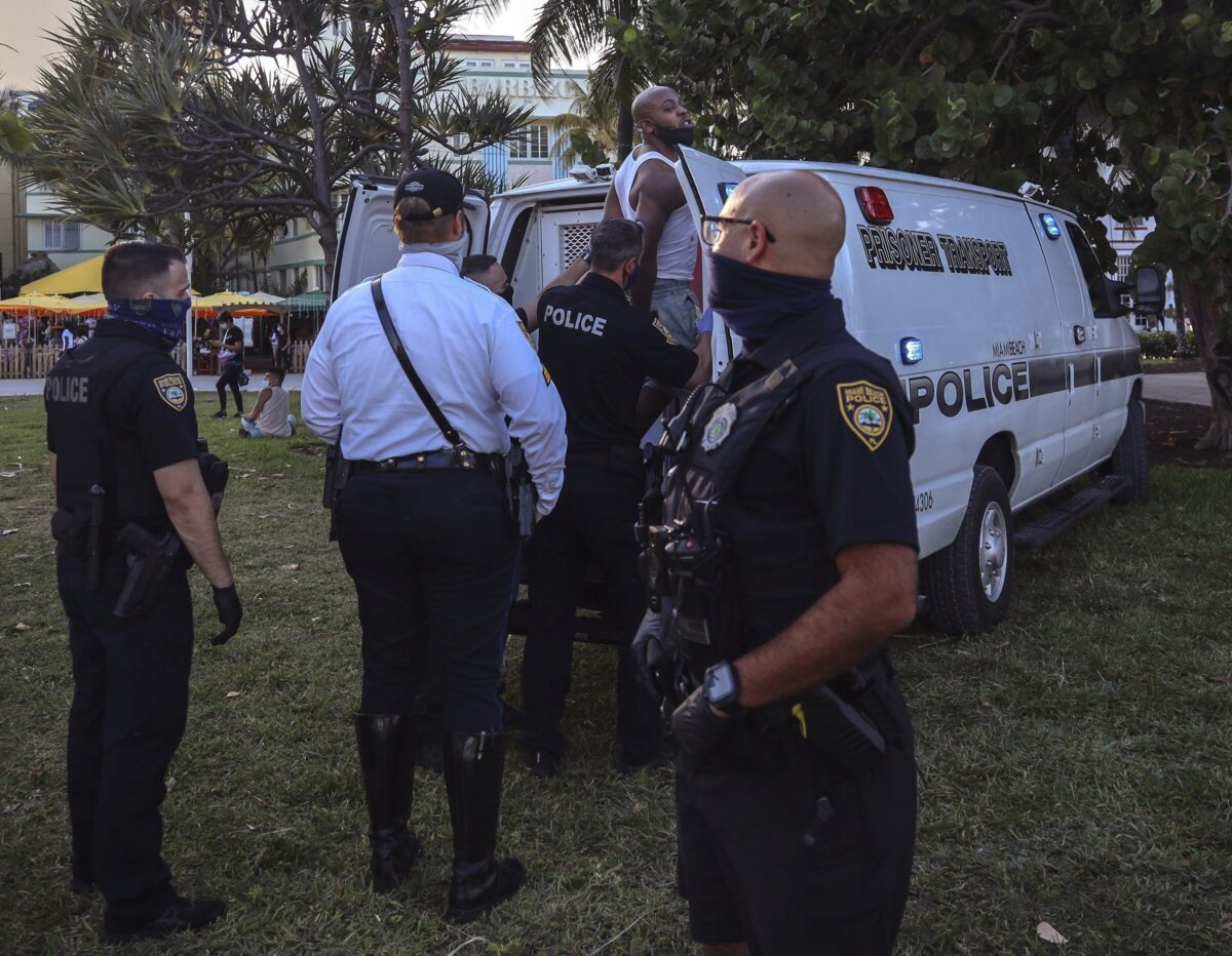 man arrested in Miami Beach