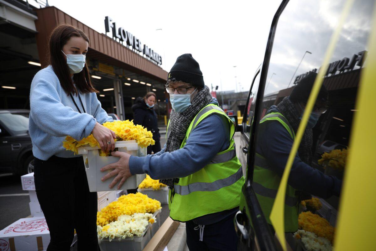 Britain marks the anniversary of its first coronavirus lockdown