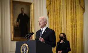 LIVE: Biden Holds His 1st Solo Press Conference