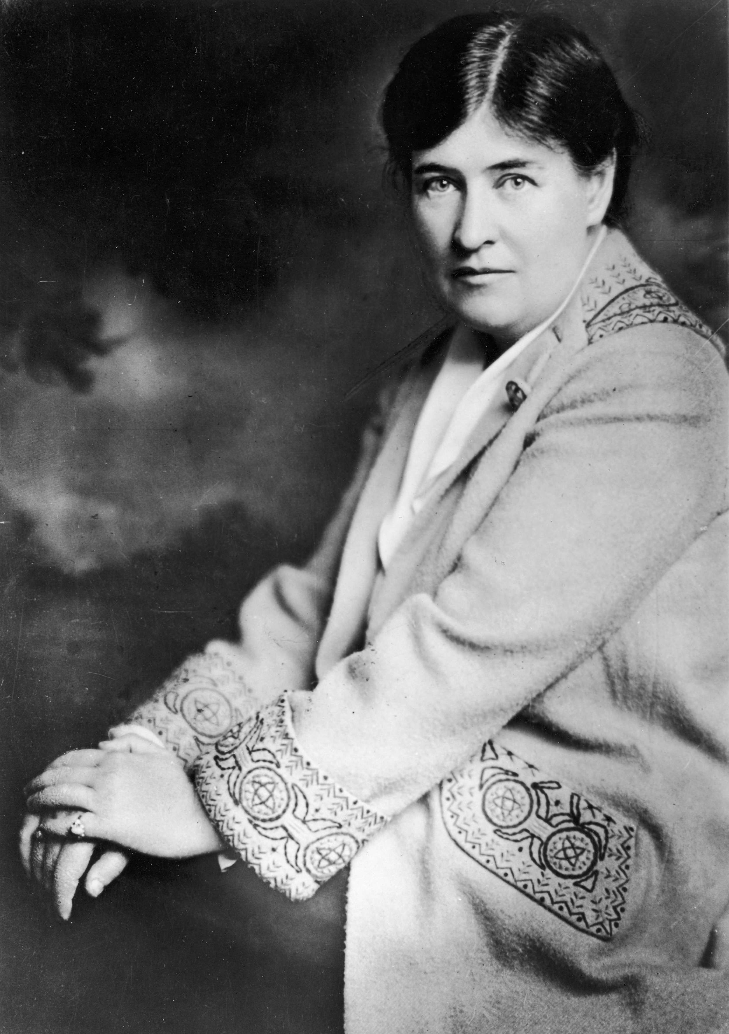 Portrait of Willa Cather, circa 1900s. (Photo by Fotosearch/Getty Images).